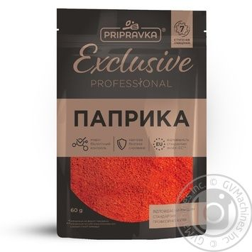 Pripravka Exclusive Professional ground paprika 60g - buy, prices for Novus - image 1