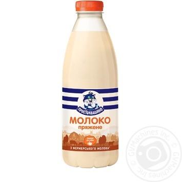 Молоко Простоквашино топленое 2,5% 900г - купить, цены на Фуршет - фото 1