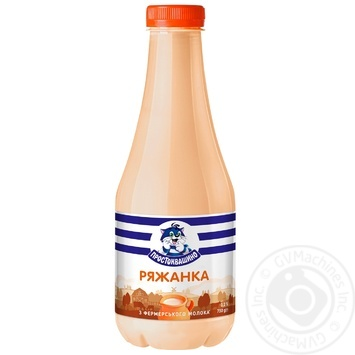 Prostokvashyno fermented baked milk 3.2% 750g - buy, prices for Auchan - image 1