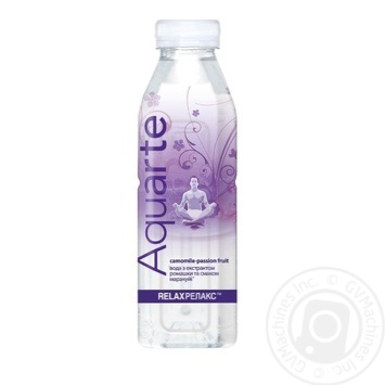 Aquarte Relax Functional water with camomile extract and passionfruit taste 500ml - buy, prices for MegaMarket - image 1