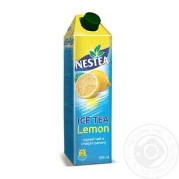 Чай чорний холодний Nestea Ice Tea зі смаком лимону 950мл - купити, ціни на Восторг - фото 1