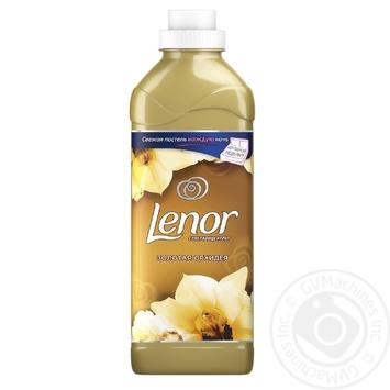 Кондиционер для белья Lenor Золотая Орхидея 930мл - купить, цены на Novus - фото 1