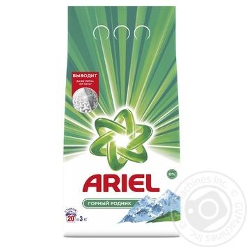 Стиральный порошок Ariel Горный родник автомат 3кг