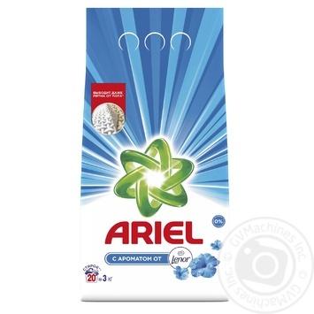 Пральний порошок Ariel 2в1 Lenor Effect автомат 3кг - купити, ціни на Novus - фото 1