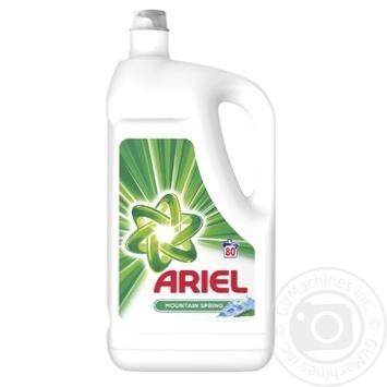 Гель для стирки Ariel Горная весна 4,4л - купить, цены на Метро - фото 1
