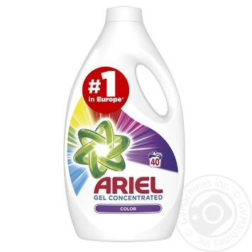 Жидкий стиральный порошок Ariel Color 2,2л