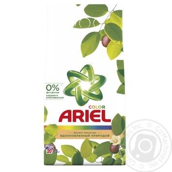 Ariel Shea Oil Aroma Automat Laundry Powder Detergent 3kg - buy, prices for Novus - image 1