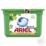 Капсулы для стирки Ariel Pods Все-в-1 Масло ши 15шт 27г