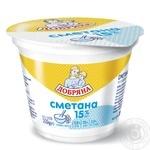 Dobryana Sour Cream 15% 200g