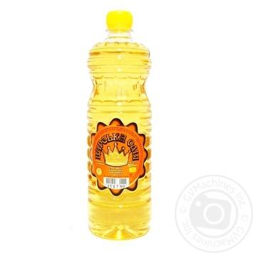 Масло подсолнечное Царська олія рафинированное 920мл - купить, цены на Восторг - фото 1