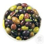 Оливки асорті без кісточки