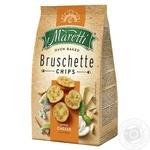 Хлебные брускеты Maretti запеченные со вкусом смесь сыров 140г