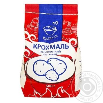 Крохмаль Казанок картопляний 500г - купити, ціни на Восторг - фото 1