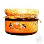Мёд разнотравья Дідова пасіка с грецким орехом 250г