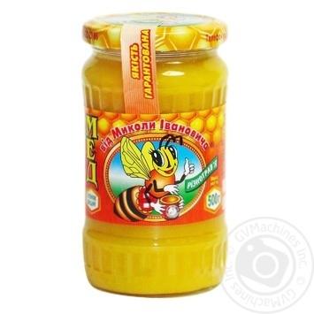 Мёд разнотравья Від Миколи Івановича 500г - купить, цены на Восторг - фото 1