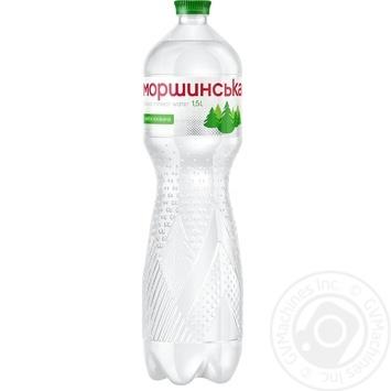 Light sparkling mineral water Morshynska 1,5l