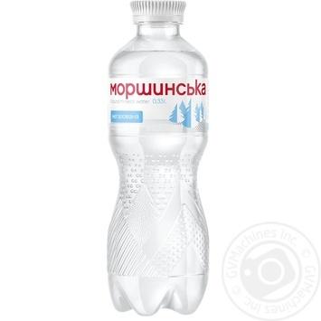 Вода минеральная Моршинска негазированная ПЕТ 0,33л - купить, цены на Novus - фото 1