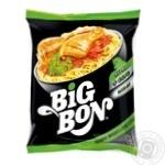 Лапша Big Bon быстрого приготовления курица с соусом сальса 75г