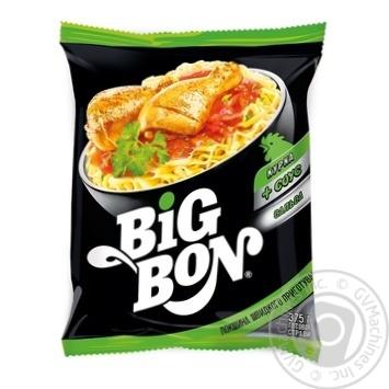 Big Bon Chicken Instant Noodles with Salsa Sauce 75g - buy, prices for MegaMarket - image 1