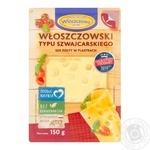 Wloszczowa Wloszczowski Swiss cheese slicing 45% 150g