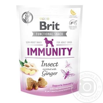 Ласощі для собак Brit Functional Snack Immunity для імунітету 150г - купити, ціни на Восторг - фото 1
