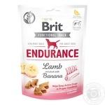 Лакомство для собак Brit Functional Snack Endurance для активных 150г