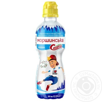 Morshynska Sportik Still natural mineral water 0,33l - buy, prices for MegaMarket - image 1