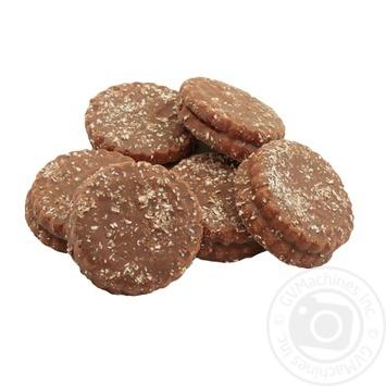 Печиво Лагода Треффі в молочній глазурі