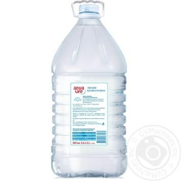 Вода Aqua Life негазированная 5л - купить, цены на Метро - фото 2