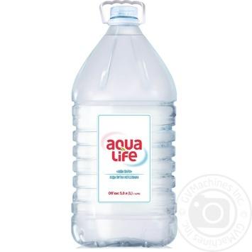 Вода Aqua Life негазированная 5л - купить, цены на Метро - фото 1