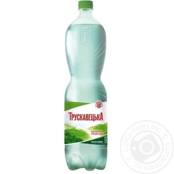 Минеральная вода Трускавецкая природная столовая слабогазированная 1500мл - купить, цены на МегаМаркет - фото 1