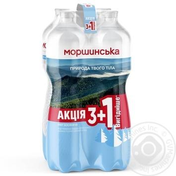 Вода минеральная Моршинская негазированная 4шт*1.5л - купить, цены на Novus - фото 1