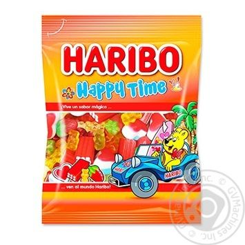 Цукерки жувальні Haribo Щасливий час 90г