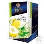 Чай зелений ТЕТ з айва та алое вера 20шт*2г - купити, ціни на Фуршет - фото 1