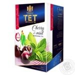 ТЕТ Green Tea With Cherry And Mint 20pc*2g - buy, prices for Furshet - image 1