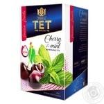 Чай зеленый ТЕТ с вишней и мятой 20шт*2г