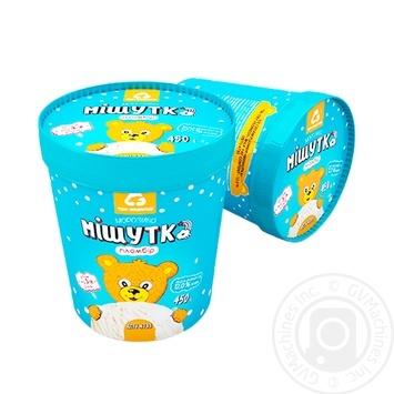 Мороженое Три Медведя Мишутка пломбир 450г - купить, цены на МегаМаркет - фото 1