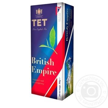 TET British Empire Black Long Tea 25pcs x 2g - buy, prices for CityMarket - photo 1