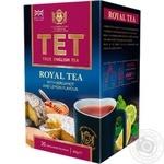 ТЕТ Royal Black Tea with Lemon and Bergamot Oil 2g*20pcs