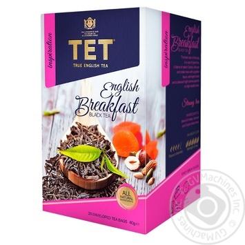 Чай черный ТЕТ english breakfast 20шт*2г