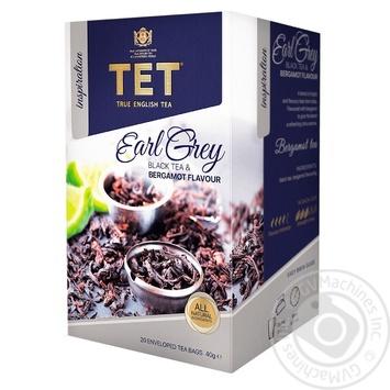 Чай черный ТЕТ Earl Grey 20шт*2г