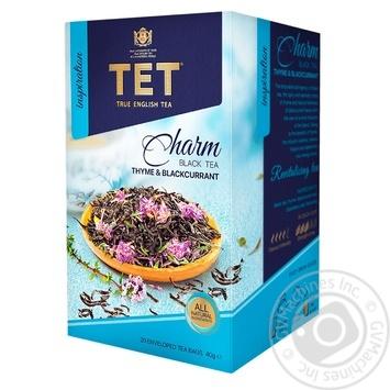 Чай ТЕТ Charm черный 20шт*2г