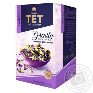 Чай черный ТЕТ serenity 20шт*2г