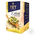Чай ТЕТ Delicate зеленый 20шт*2г