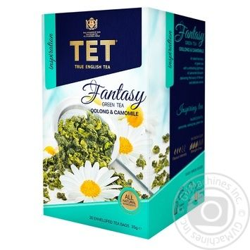 Чай зеленый ТЕТ fantasy 20шт*1.75г