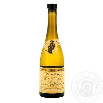 Вино Domaine Weinbach Riesling Cuvee Sainte Catherine белое сухое 14% 0.75л