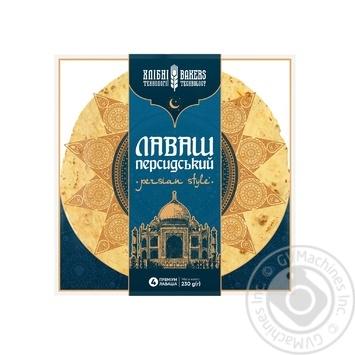 Khlibni Tekhnolohii Premium Persian Lavash 4pcs 230g - buy, prices for MegaMarket - image 1
