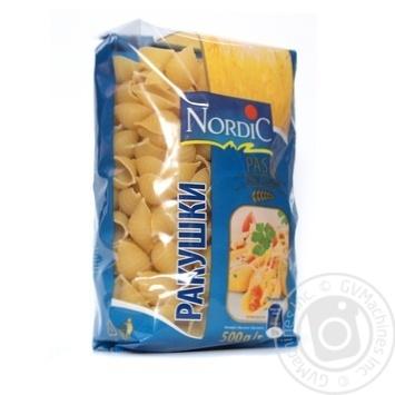 Макаронні вироби Nordic мушлі 500г - купити, ціни на Novus - фото 1