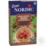 Каша вівсяна Nordic темний шоколад та малина 210г