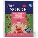 Каша овсяная Нордик малина моментального приготовления 35г Финляндия